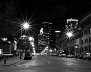 Minneapolis at Night Photo Credit: Andrew Olson